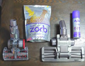 NEW! DYSON BUNDLE, POWERED STAIR, FLAT SURFACE, TILE, HARDWOOD, ATTACHMENTS. Spray, and powder cleaners for Sale in Sultan, WA