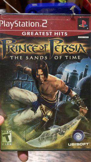 Prince of Persia The Sands of Time PS2 (Sony PlayStation 2, 2003) for Sale in Dundalk, MD