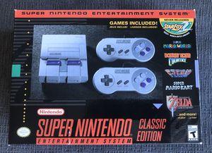 Super Nintendo Classic (SNES) - brand new for Sale in Chicago, IL