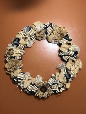 24 in. Home Decor Wreath for Sale in Houston, TX