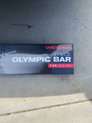 Olympic bar for Sale in Salinas, CA