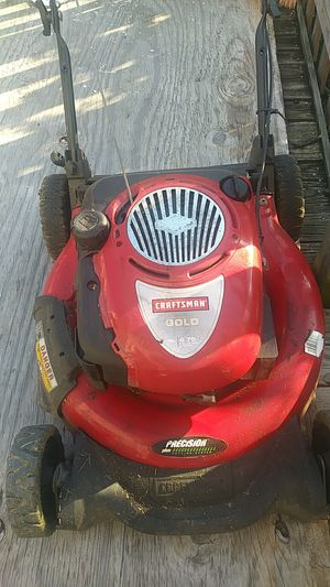 Used Craftsman Gold Lawn Mower for Sale in Philadelphia, PA