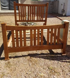 Double bed frame and dresser for Sale in Phoenix, AZ