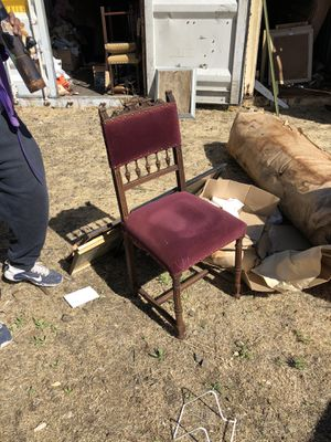 Antique Furniture Set With 4 Chairs for Sale in Oakland, CA