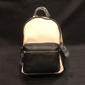 "Dream Control- women's black/ beige 10"" backpack NWT (vegan leather) for Sale in Silverado, CA"