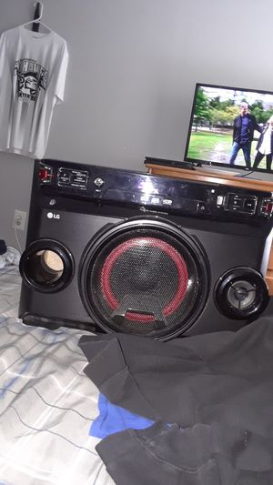 LG stereo system Bluetooth for Sale in East Providence, RI