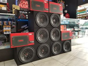"2 12"" DS18 SUBWOOFERS W/AMP & BOX COMBO (SPECIAL PRICING) for Sale in Tampa, FL"