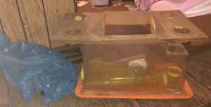 Hamster cage and attachments for Sale in Broadway, VA