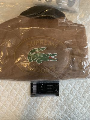 Supreme x Lacoste Bomber Jacket for Sale in Lilburn, GA