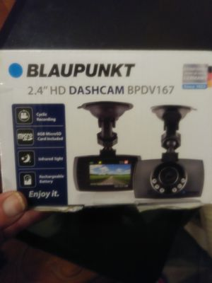"*Blaupunkt®*2.4""*HD*Dashcam*Model# BPDV167*With Charger and USB Cable*Brand New in Box* for Sale in Auburn, WA"