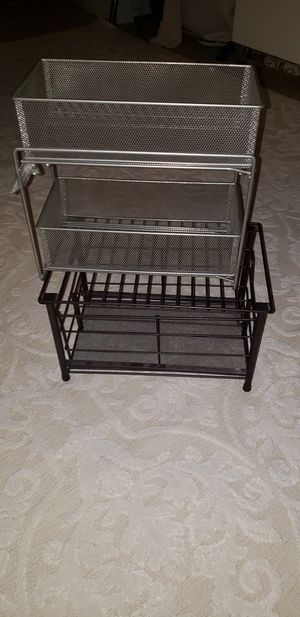 Under cabinet metal racks for organizing. for Sale in Los Angeles, CA