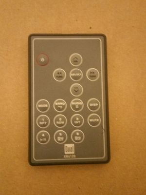 Dual car audio system remote for Sale in Durham, NC