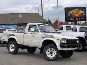 Rare + 1982 Toyota Truck 4WD 5-speed + Mint for Sale in Edmonds, WA