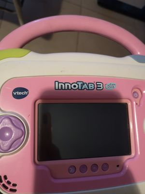 Vtech Innotab with cartridge for Sale in Mentone, CA