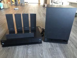 Sony HBD-E570 3D Blu-ray 5.1Ch Home 6pc Theater System - NO REMOTE for Sale in Grand Rapids, MI