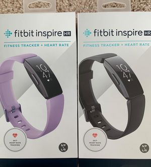Fitbit Inspire HR (count 2) - Brand New for Sale in South Riding, VA