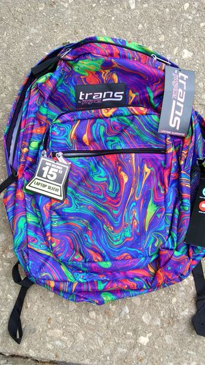 Jansport Trans SuperMax NEW backpack, Laptop section for Sale in Audubon, PA