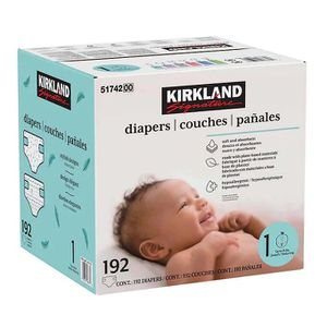 2 kirkland pampers boxes size 1 50$ for Sale in Rancho Dominguez, CA