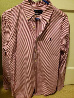 Mens Long Sleeve Ralph Lauren Slim Fit Dress Shirt for Sale in Norfolk, VA