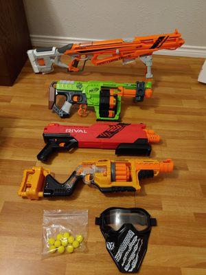 Nerf gun lot for Sale in Garland, TX