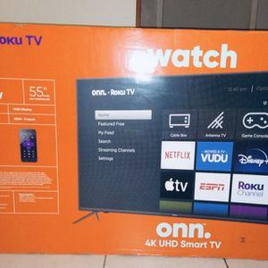 55 INCH ONN ROKU SMART TV for Sale in Miami, FL