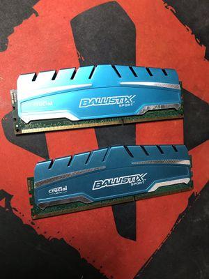 Crucial Ballistix Sport 2 x 4GB (8GB) 1866MHz DDR3 for Sale in Sparks, NV