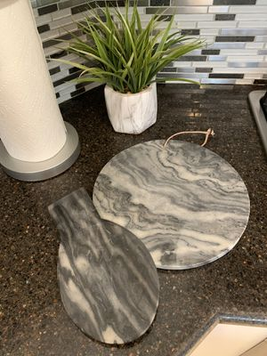 Marble cheese board & spoon rest for Sale in Chula Vista, CA