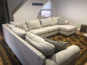Sectional Couch & Chaise Lounge (Left Arm Facing) for Sale in Chicago, IL