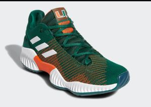 Adidas Miami Hurricanes shoes for Sale in Roswell, GA