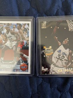 Shaquille O'Neal (2 Cards) for Sale in Cockeysville,  MD