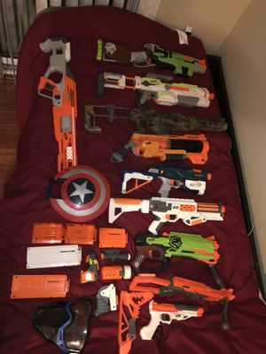 Lot of Nerf Guns / accessories for Sale in Diamond Bar, CA