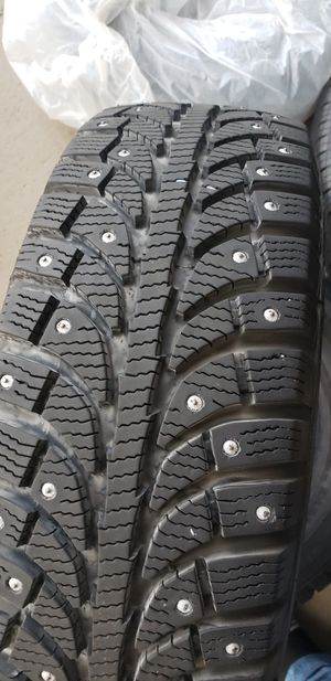 Ice pro set of tires 185/65 R14 for Sale in Auburn, WA
