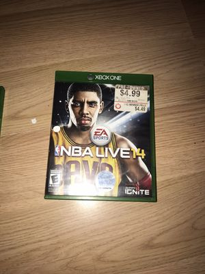 Xbox game NBA Live 14 for Sale in Salisbury, MD