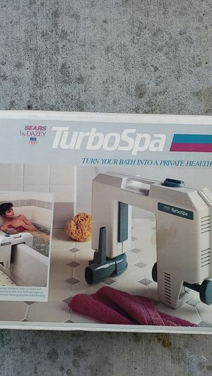 Turbospa turn your bath into a private health club for Sale in Long Beach, CA