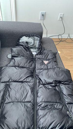 Black Guess puffer vest for Sale in Alpharetta, GA