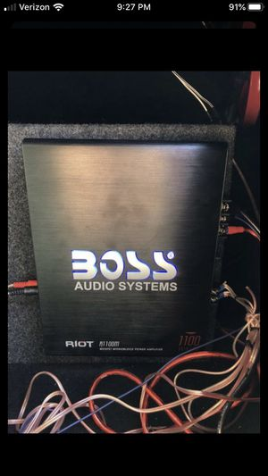 Boss Audio Systems Amplifier. 1100 Watts. (Wires not included) for Sale in Old Orchard Beach, ME