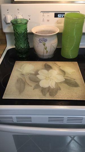 Flower kitchen decor for Sale in Virginia Beach, VA