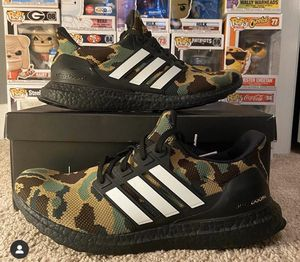 Adidas Bape 4.0 Ultraboost Camo Green for Sale in Frederick, MD