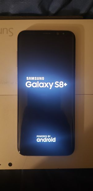 Samsung Galaxy s8 plus. T-mobile ,unlocked, clean IMEI . for Sale in Atlanta, GA