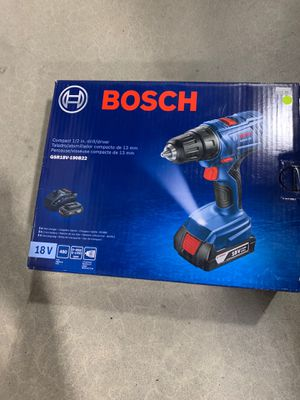 Bosch compact 1/2 in drill/driver for Sale in Albany, NY