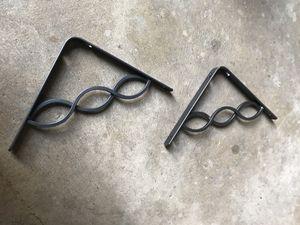 Metal shelf brackets for Sale in Evanston, IL