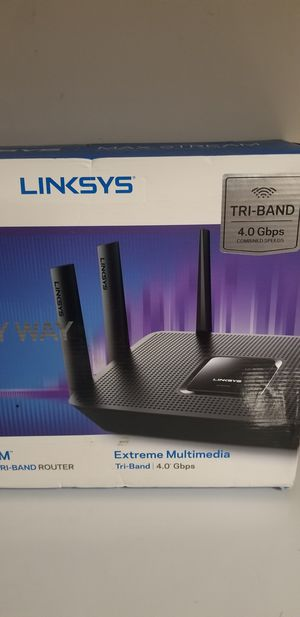 New Linksys AC4000 wireless router (model EC9300) for Sale in Gastonia, NC