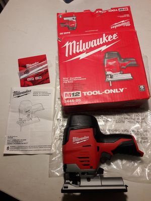 MILWAUKEE M12 CORDLESS HIGH PERFORMANCE JIG SAW for Sale in Los Angeles, CA