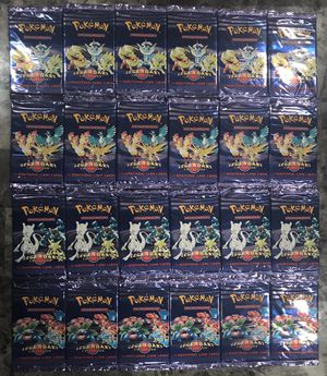Pokemon Cards Legendary Collection Booster Packs for Sale in Dallas, TX