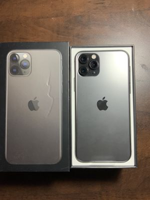 Gray IPhone 11 Pro 64gb Unlocked any Networks, Paid off- New in Box for Sale in Phoenix, AZ