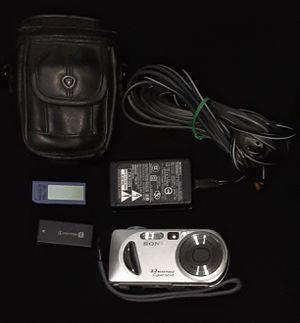 Sony Cyber-shot 3.2mp Digital Camera Bundle for Sale in Phoenix, AZ