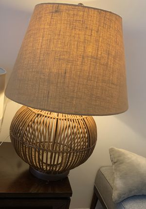 Ralph Lauren Natural Lamp Large for Sale in Pelham, NY