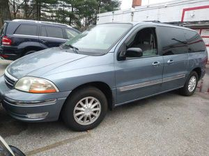 2000 Ford Windstar Minivan 90 k miles 4 doors all power Captain Chair - for Sale in Manassas, VA