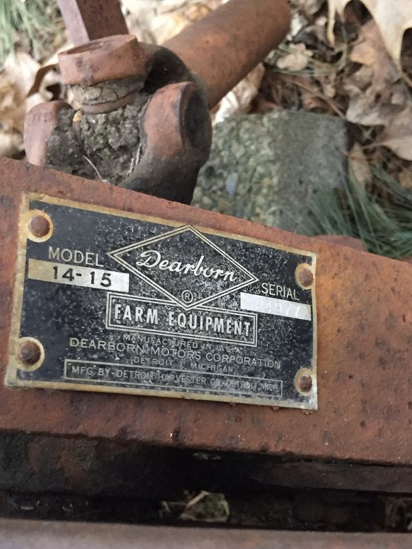 Dearborn 14-15 Sickle Bar Mower