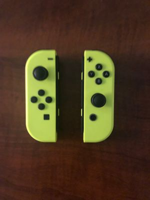 Yellow Nintendo Switch Joy Cons (Read description) for Sale in Garden Grove, CA
